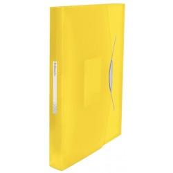 Teczka z przegródkami A4 Esselte Vivida żółta