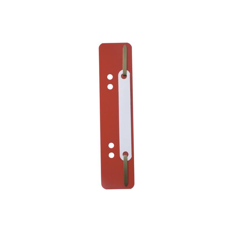 Wąsy skoroszytowe Durable 25szt czerwona