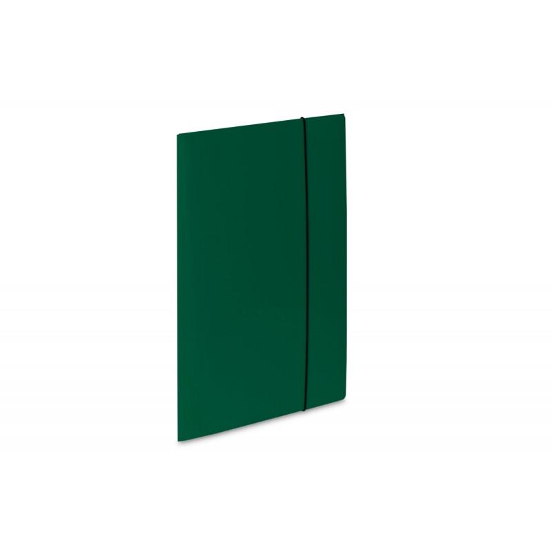 Teczka lakierowana A4 z gumkト� VauPe Soft zielony