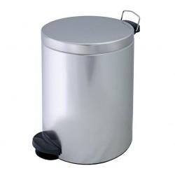 Kosz na śmieci z pedałem, stalowy, 20 litrów