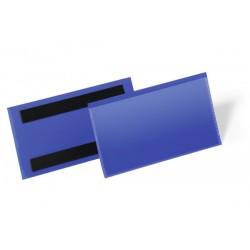 Magnetyczne kieszenie magazynowe Durable 150x67mm, opak.50 szt
