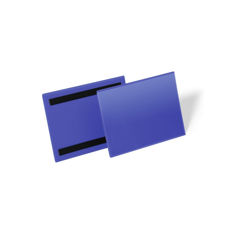 Magnetyczne kieszenie magazynowe Durable A5 pozioma, opak.50 szt