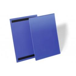 Magnetyczne kieszenie magazynowe Durable A4 pionowa, opak.50 szt