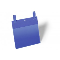 Kieszenie magazynowe Durable z paskami montażowymi A5, opak.50 szt