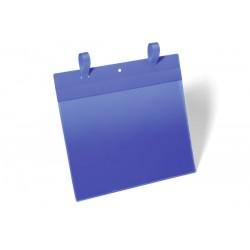 Kieszenie magazynowe Durable z paskami montażowymi A4 pozioma, opak.50 szt