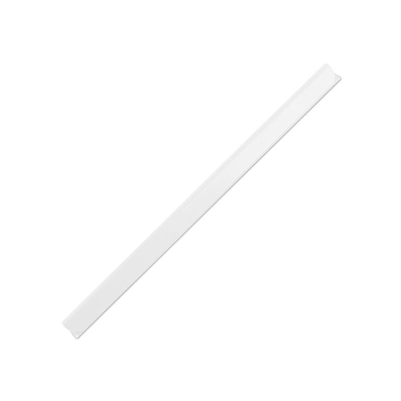 Listwy wsuwane ARGO opak.50 szt. 6 mm, do 20 kartek biały
