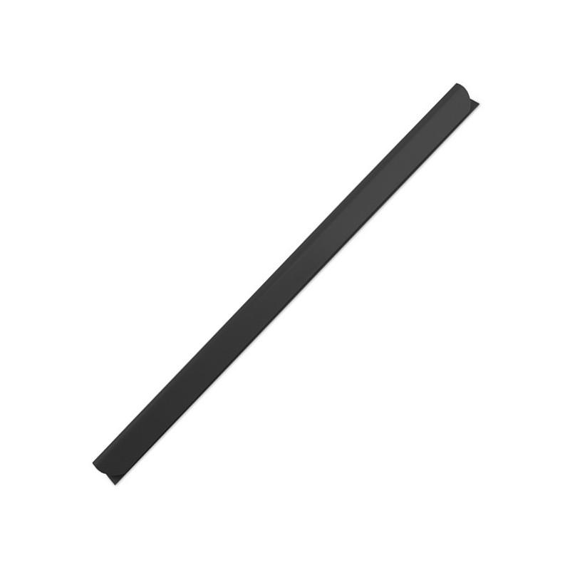 Listwy wsuwane ARGO opak.50 szt. 6 mm, do 20 kartek czarny