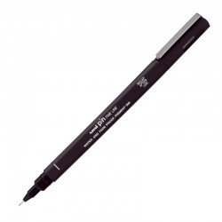 Cienkopis kreślarski UNI PIN 200 0,6 mm, czarny