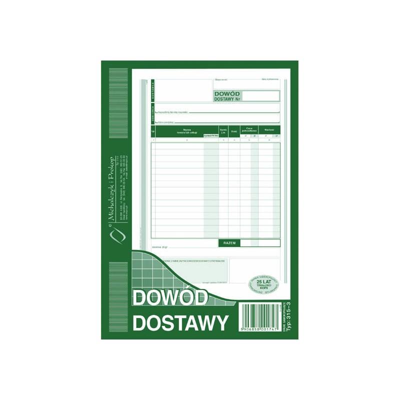 Dowテウd dostawy