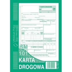 Karta drogowa - samochテウd osobowy