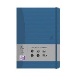 Brulion Oxford Signature A5/72k kratka, niebieski