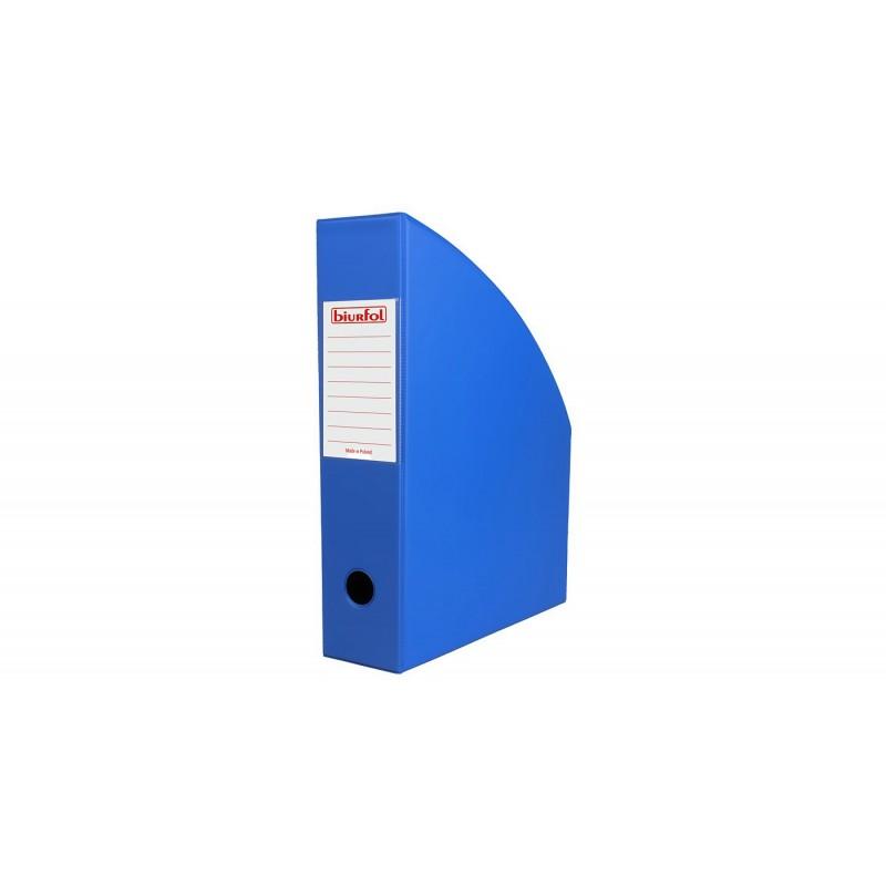 Pojemnik na dokumenty A4 Biurfol 70 mm niebieski