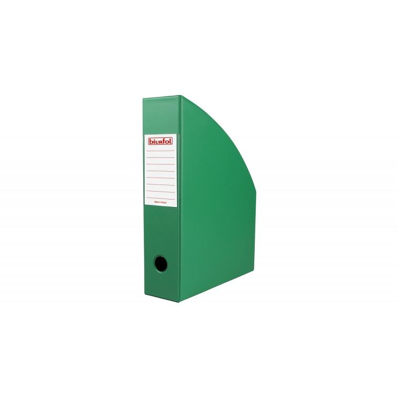 Pojemnik na dokumenty A4 Biurfol 70 mm ciemny zielony