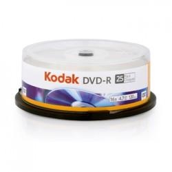PŁYTA DVD-R KODAK 4,7GB 25 SZT. CAKE