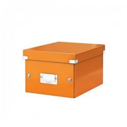 Pudło Leitz C&S uniwersalne A5 pomarańczowe