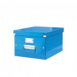 Pudło Leitz C&S uniwersalne A4 niebieskie