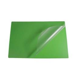 Podkład na biurko Biurfol z folią zielony, 580x380mm