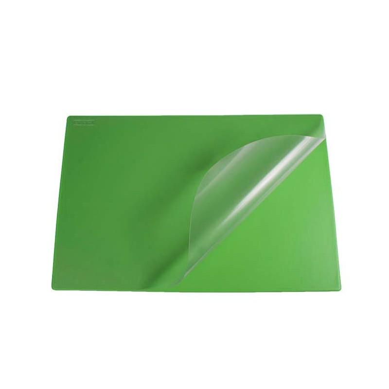 PodkナBd na biurko Biurfol z foliト� zielony, 580x380mm