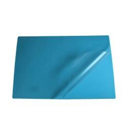 Podkład na biurko Biurfol z folią błękitny, 580x380mm