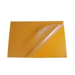 Podkład na biurko Biurfol z folią pomarańczowy, 580x380mm