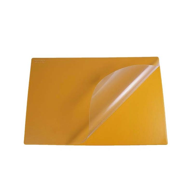 PodkナBd na biurko Biurfol z foliト� pomaraナ�czowy, 580x380mm
