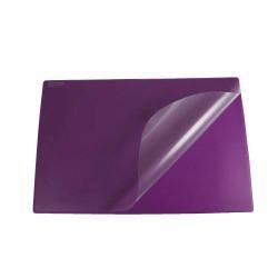 Podkład na biurko Biurfol z folią fioletowy, 580x380mm