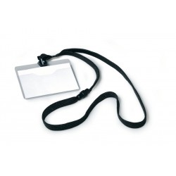 Identyfikator durable 8139-01 czarny