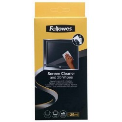 Płyn do czyszczenia Fellowes + ściereczki