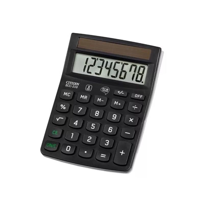 Kalkulator ekologiczny CITIZEN ECC-210