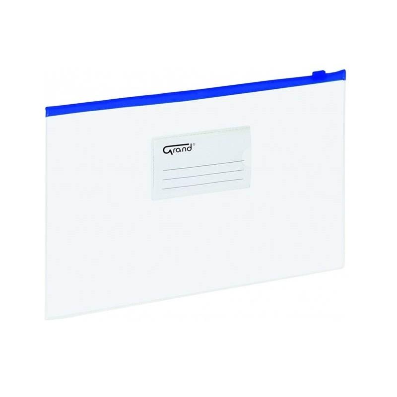 Teczka z suwakiem Grand A5 007b niebieska