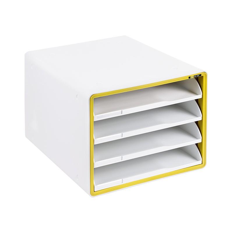 Szafka na dokumenty Yellow One YL-SP04NF żółta