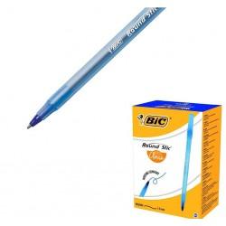 Długopis Bic Round Stick niebieski 60 sztuk