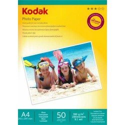 Papier foto Kodak A4 180g 50 arkuszy błyszczący