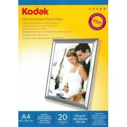 Papier foto Kodak A4 270g 20 arkuszy bナZszczト�cy