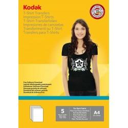 Papier foto Kodak A4, 120g 5 arkuszy do nadruku na cienmy t-shirt