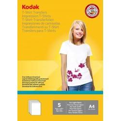Papier foto Kodak A4, 120g 5 arkuszy do nadruku na jasny t-shirt