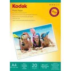 Papier foto Kodak A4, 180g 20 arkuszy bナZszczト�cy