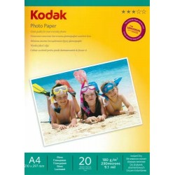 Papier foto Kodak A4, 180g 20 arkuszy błyszczący