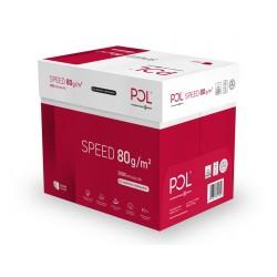 Papier ksero POLspeed A4, 80g - opakowanie 5 sztuk (5 ryz)