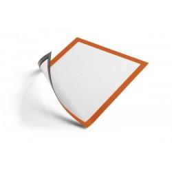 Ramka magnetyczna A4 Durable 4869 pomarańczowa
