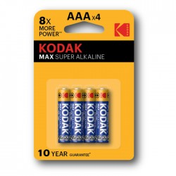 Baterie Kodak LR03 AAA K3A-4 MAX