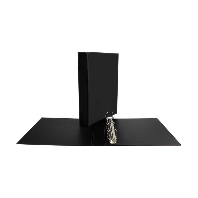 Segregator ofertowy Panorama Biurfol A4/D25/4cm czarny