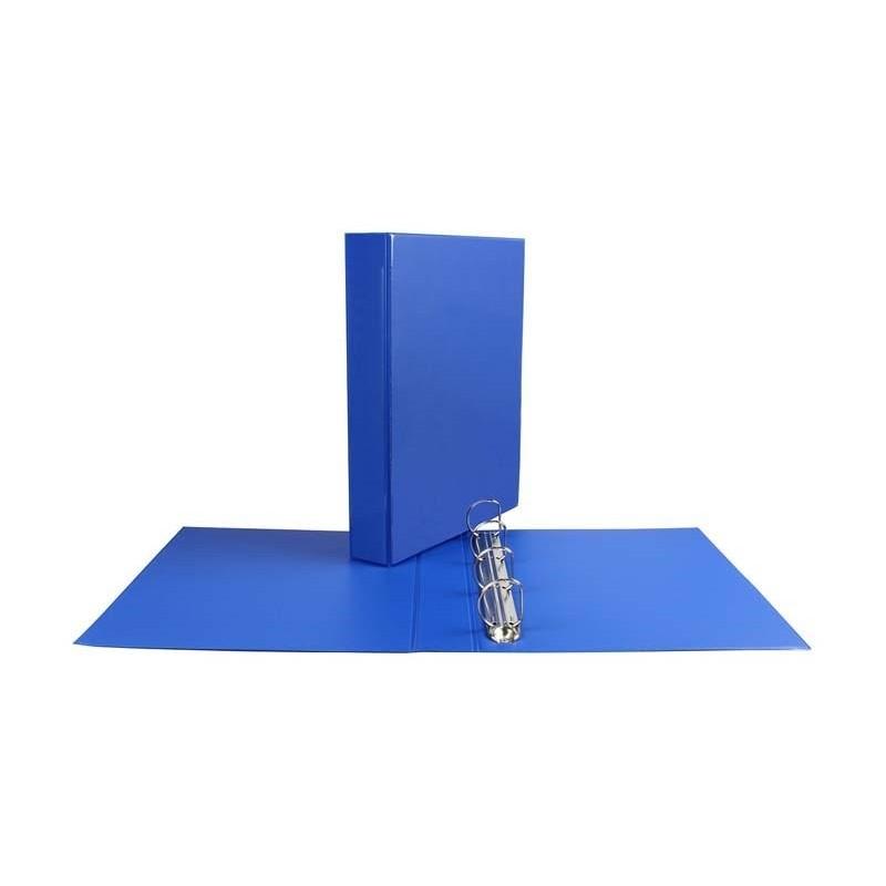 Segregator ofertowy Panorama Biurfol A4/D35/4,5cm niebieski