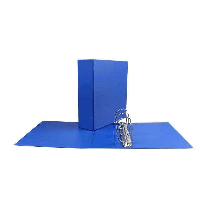 Segregator ofertowy Panorama Biurfol A4/D65/8,5cm niebieski