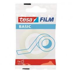 Taśma biurowa BASIC Tesa z dyspenserem 15mm x 33m