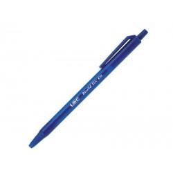 Długopis automatyczny Bic Round Stic Clic niebieski