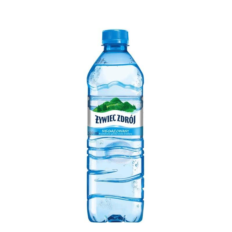 Woda źródlana Żywiec Zdrój 0,5 L niegazowana