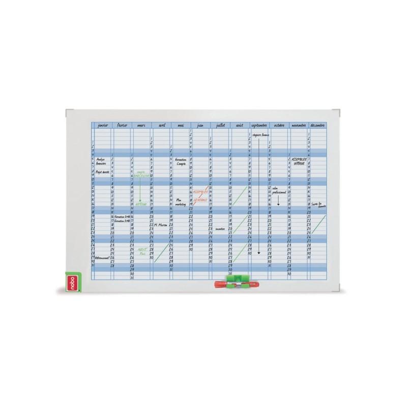 Planer miesięczny Nobo 60x90 cm