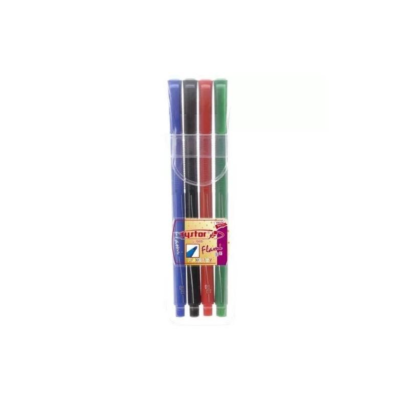 Flamastry Rystor Flami Etui, 4 kolory