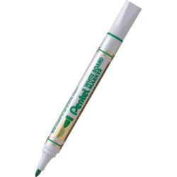 Marker do tablic suchościeralnych Pentel MW85 zielony